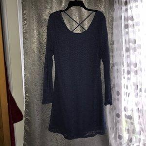 Lace pattern dress
